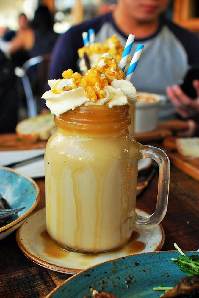Patissez Canberra Nutty Pat The Freakshow Milkshake