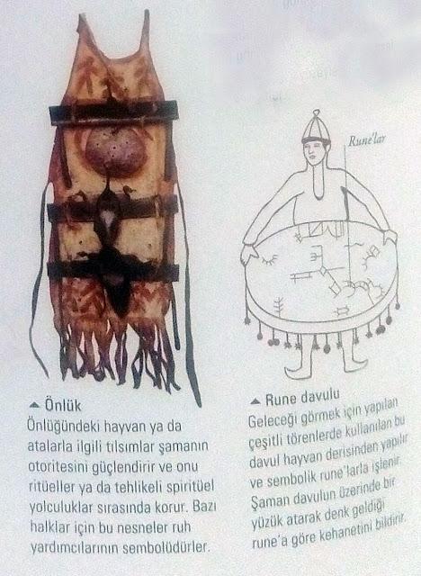 Rune davulu - önlük