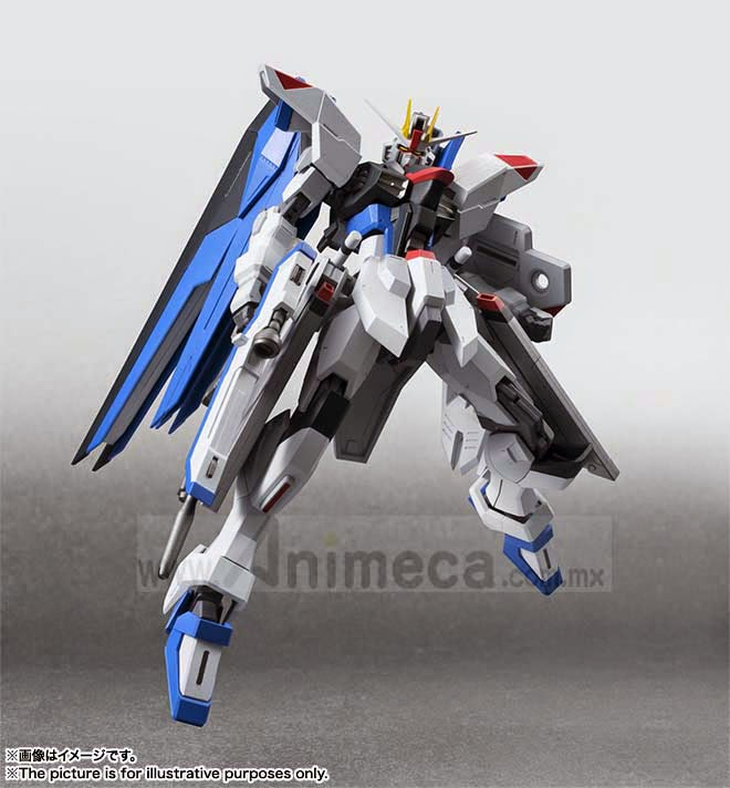 ROBOT SPIRITS SIDE MS FREEDOM GUNDAM FIGURE Mobile Suit Gundam SEED BANDAI