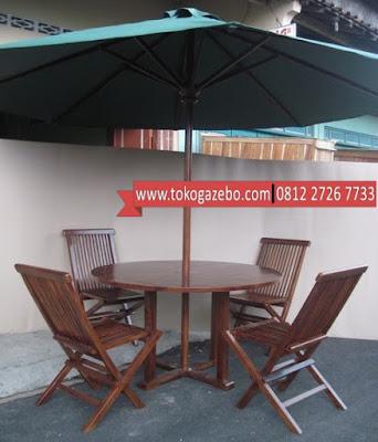 Tenda Payung Jati Jepara
