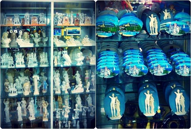 Greek statues vases ceramics