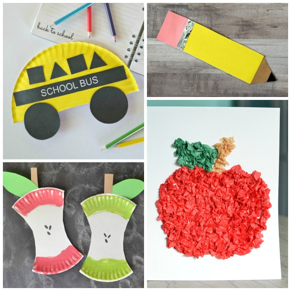 25 BACK-TO-SCHOOL CRAFTS FOR KIDS ( the DIY backpack is SO COOL!)