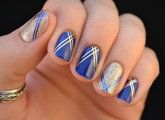 prom nail art