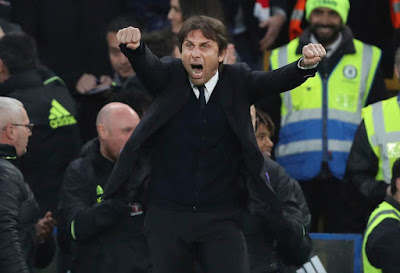 See What Antonio Conte's Daughter Did As Chelsea Moves Closer To EPL Title (Photos)