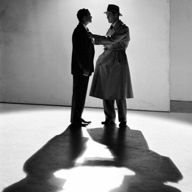 Van Heflin and Robert Ryan in Act of Violence_Film Noir Foundation