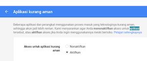 Google Mail Tidak BIsa Log In Melalui Thunderbird