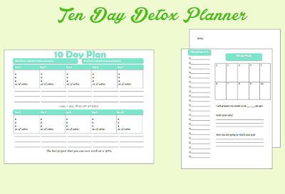 10 Day Meal Planner Freebie!