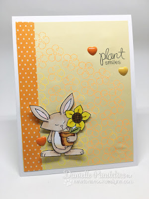 May Flowers Blog Hop | Newtons Nook Designs | Card made by Danielle Pandeline
