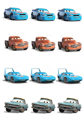 cars 3 birthday party printables