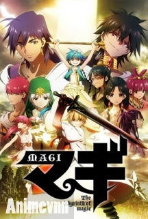 Mê Cung Huyền Bí - Magi: The Labyrinth of Magic: Season 1 2012 Poster