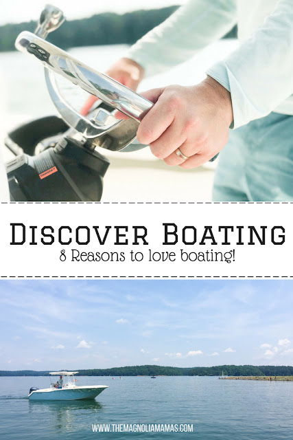 Discover Boating: 8 Reasons to love boating! Boating with family for vacation and leisure.