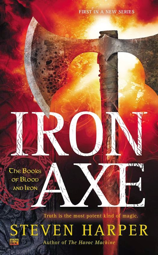 Review: Iron Axe by Steven Harper