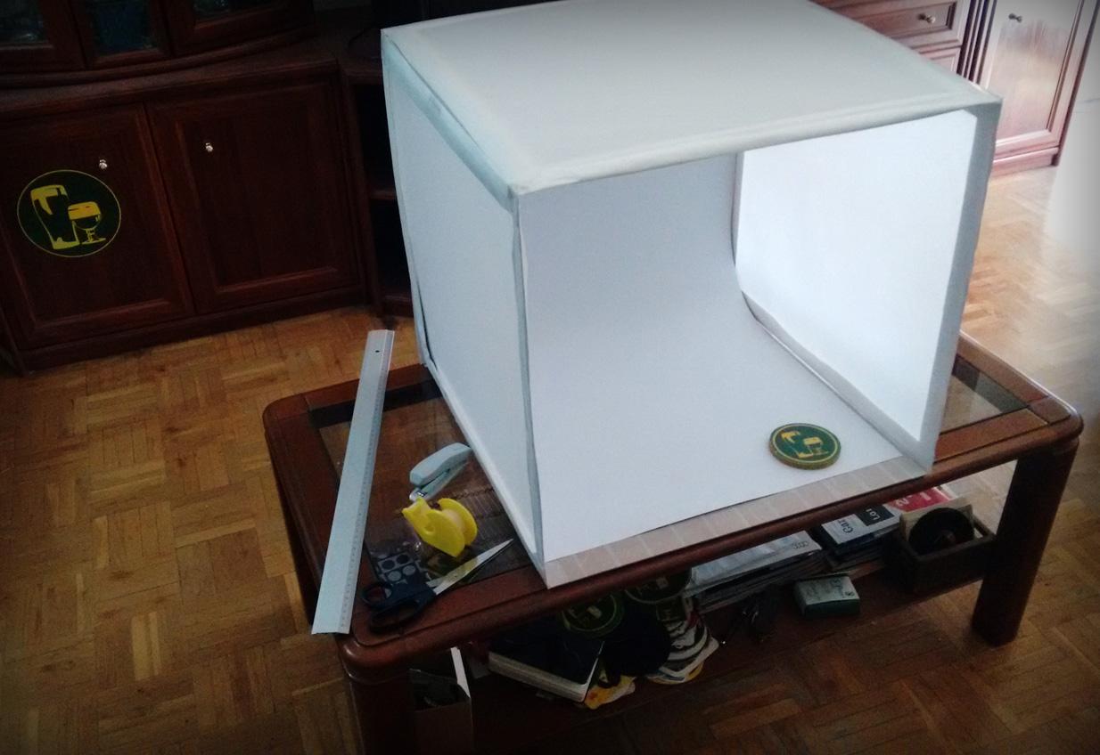 El jard n del l pulo web especializada en cerveza diy - Caja de luz de madera ...