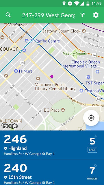Transit Map View