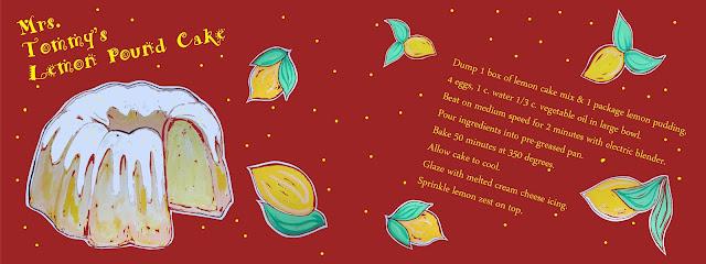 Mrs. Tommy's Lemon Pound Cake - image 4 - student project