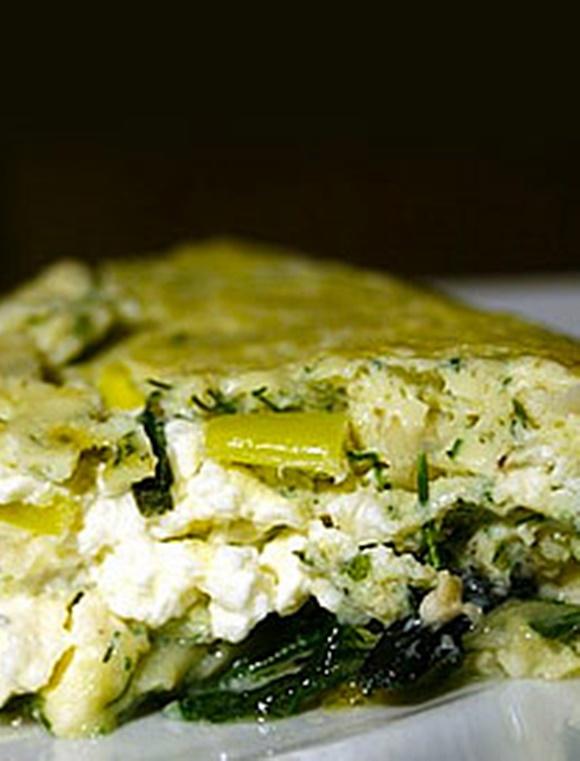 Omelette De Poireau