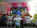Tema Galinha Pintadinha para decoração de mesa de festa de aniversário infantil - ornamentação de festa