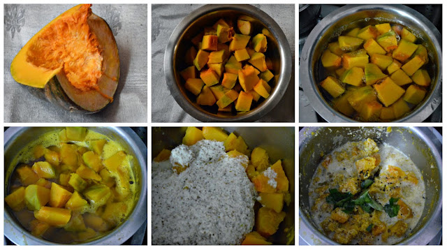 yellow pumpkin/parangikai kootu