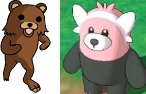 Pedobear Bewear bear Pokémon Sun Moon