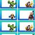 Marvel Superhero Squad Chibi: Etiquetas para Imprimir Gratis.