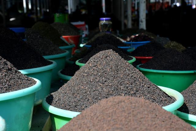 Yöresel pazar-Çay çeşitleri-Duşanbe