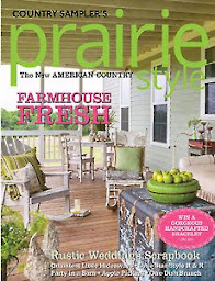 FEATURED HERE!                     Prairie Style Summer 2016