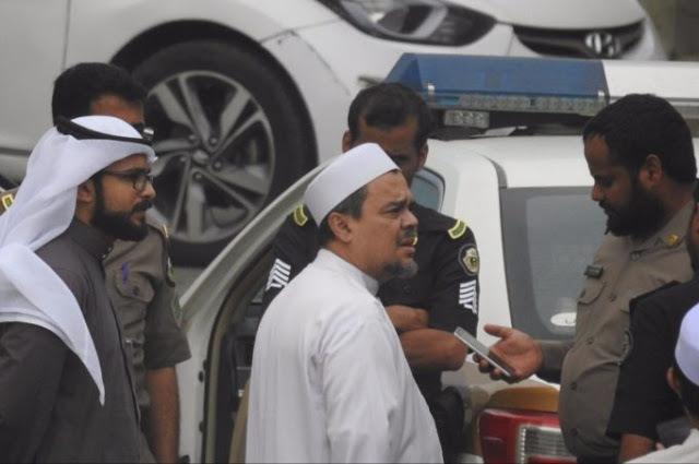 Setelah Diperiksa Polisi Saudi Terkait Bendera Tauhid, Ini Kondisi Terbaru Habib Riziq