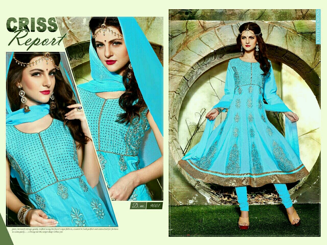 Sizzling – New Patterns Embroidered Readymade Anarkali Suit