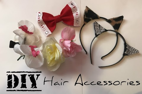 EASY 5 MUST-TRY DIY Hair Accessories! (DIY Monday)