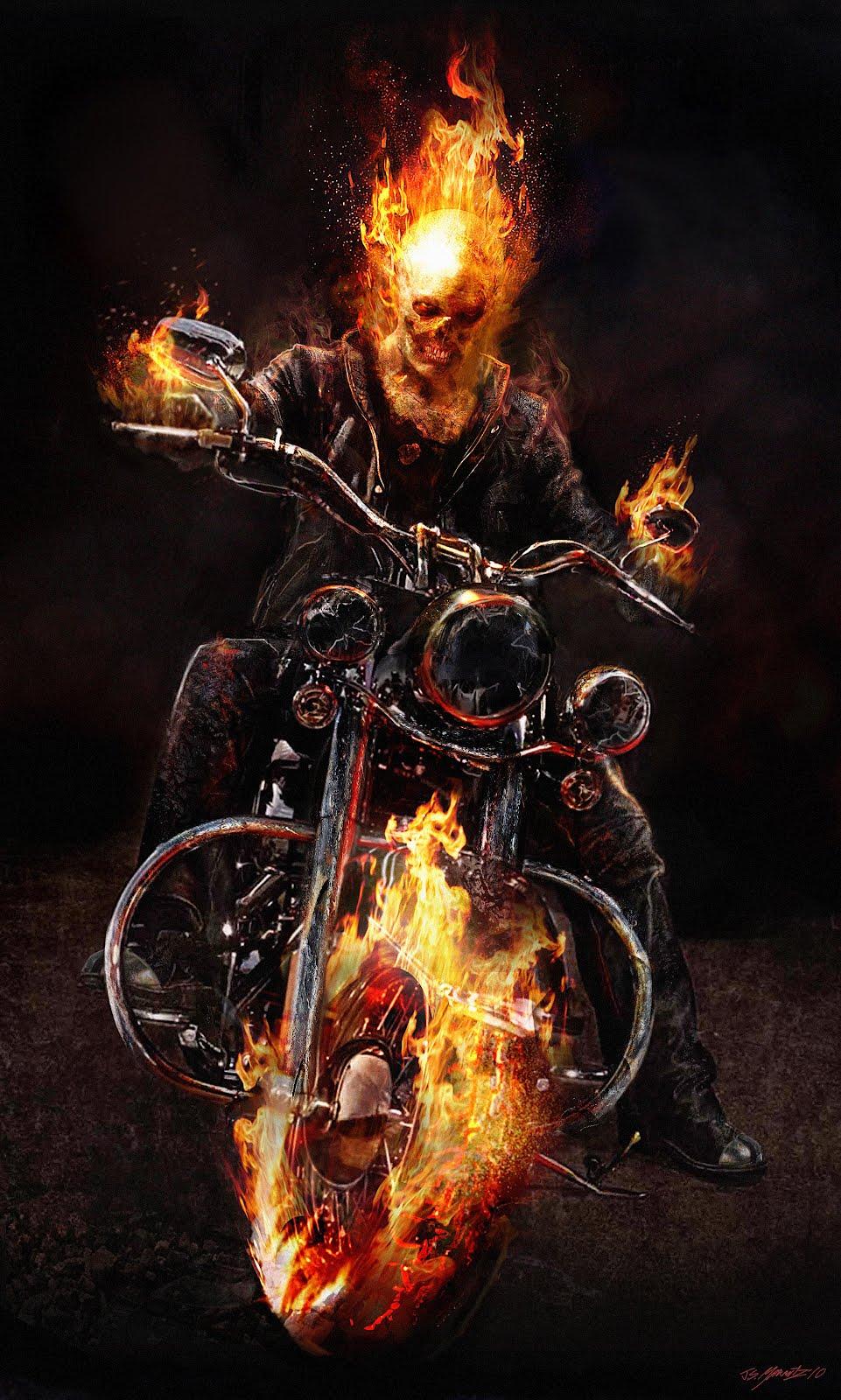 Ghost Rider Spirit of Vengeance designs.