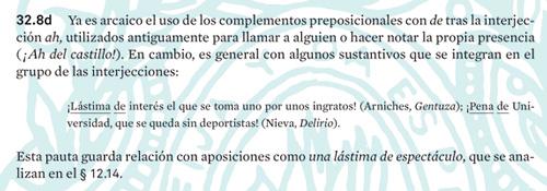 Apartado 32.8d de la Nueva gramática de la lengua española