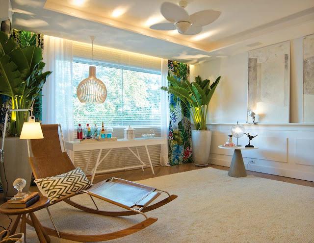 vaso palmeira em casa