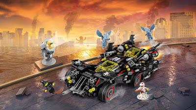 LEGO Ultimate Batmobile recensione