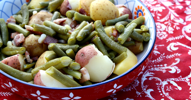 Mommy S Kitchen Recipes From My Texas Kitchen Southern Style Green Beans With New Potatoes