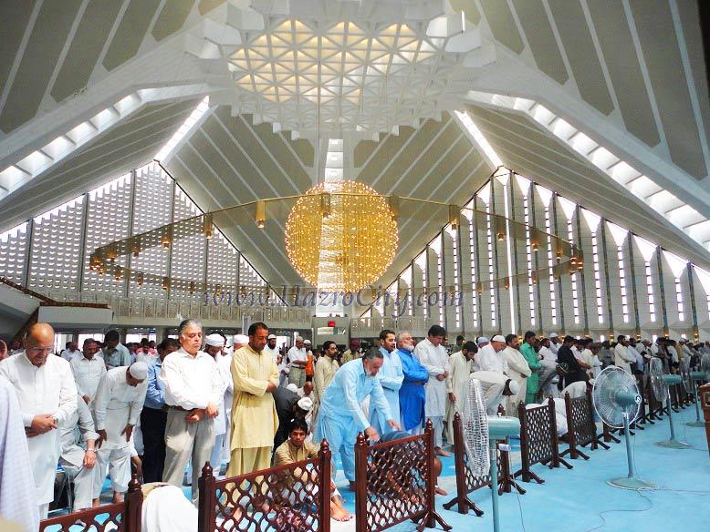 Faisal Masjid Inside   www.pixshark.com - Images Galleries ...