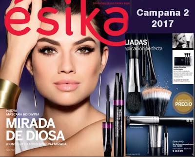 catalogo esika campaña 2 2017