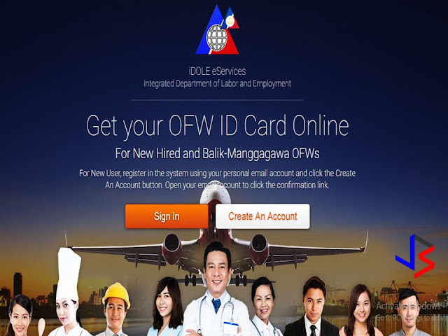 """Are you one of the millions of OFWs waiting for the OFW iDOLE ID? It's been """"introduced"""" last July 12, and we have the step by step process on how to get it online. You will need to retrieve your latest OEC since it's your most recent information as registered with the POEA.  Note that as of July 13, contrary to what the Department of Labor and Employment (DOLE) stated, the OFW ID as well as the shipping via Philpost is not free. The details of the procedure and payments are as follows.  STEP BY STEP PROCESS ON HOW TO GET YOUR OFW IDOLE  ID  STEP 1: Get your latest OEC number. If you don't have the paper copy, you can check it thru bmonline registration (HERE).  Your latest OEC number is the first in the list. For receipt-only OEC, it's the receipt number.  STEP 2: Go to IDOLE services website at this link HERE  STEP 3: Click CREATE A NEW ACCOUNT, and the choices are given on which identification you would like to submit. One option is the OEC number. Since you got it, follow with the following steps.  STEP 4: If you choose the OEC Number, fill up the entry given.  STEP 5: After a successful registration, an activation link will be sent to the email address entered. Open that email and look for the e-mail from DOLE. Click the ACTIVATION LINK in that email. If you did not get the e-mail, check the SPAM folder.  STEP 6: Proceed with the registration, your bmonline information is in coordinated with the IDOLE online. Click SELECT TRANSACTION.  STEP 7:  Click the ICON for OFW Card Application.   Step 8: You have two options on how you want to receive the OFW ID, It's either you want it to be DELIVERED at your home address or PICK UP at your nearest POEA branch.  STEP 9: If you choose PICK UP, provide the nearest POEA branch near you. The charge will be for the OFW CARD only costing 501 Pesos.  STEP 10:  If you choose DELIVERY option, provide the address asked at the entry box. An amount of 200 Pesos for Philpost delivery will be added to the total amount.  STEP 11: For """