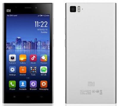 Spesifikasi  Xiaomi Mi 3      Memori Xiaomi Mi 3 dilengkapi dengan memori internal sebesar 16 GB, memori RAM 2 GB, sementara untuk memori eksternal Xiaomi Mi 3 ini tidak memiliki slot memori eksternal alias Sobat gadget tidak bisa menambahkan memori eksternal kedalam perangkat ini, inilah mungkin menjadi salah satu mines-Nya karena Sobat gadget tidak bisa menambahkan memori eksternal untuk menambah kapasitas Xiaomi Mi 3 ini.  Kamera Xiaomi Mi 3 memiliki dua bagian kamera yakni kamera utama dibagian belakang perangkat dan kamera depan, untuk kamera utama sebesar 13 MP, sementara kemera depan sebesar 2 MP, dengan fitur kamera seperti auto fokus, dual Led Flash akan menghasilkan jepretan pada malam hari lebih baik.  Tampilan Xiaomi Mi 3 pada bagian layar menggunakan type IPS LCD dengan ukuran layar 5 inchi dan resolusi 1080 x 1920 Pixels dengan kerapatan 441 ppi, selain dari komponen yang ada pada layar, Xiaomi Mi 3 juga dilengkapi dengan proteksi layar Corning Gorilla Glass 3.   Kelebihan Xiaomi Mi3  Seperti yang sedikit dijelaskan di atas, Xiaomi Mi3 didukung dengan tampilan ramping dan mewah Ukuran layar 5 inci membuat anda lebih nyaman saat menggunakannya Menggunakan layar multitouch dan juga telah dilengkapi dengan perlind