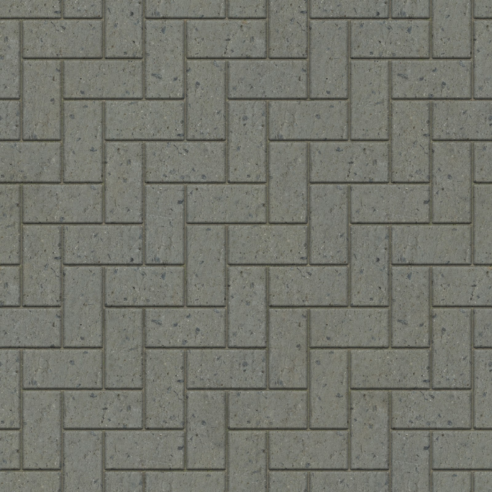 Brick tiles pavement seamless texture 2048x2048