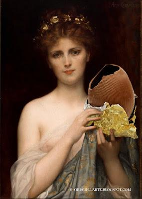 fotomontaggi di dipinti classici- Alexander Cabanel