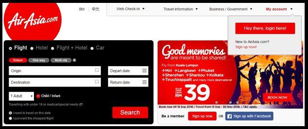 Cara Membeli Tiket Kapal Terbang Flight Secara Online