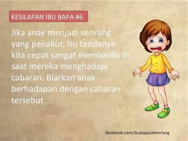 (Senarai) 11 Kesilapan Ibu Bapa Dalam Mendidik Anak