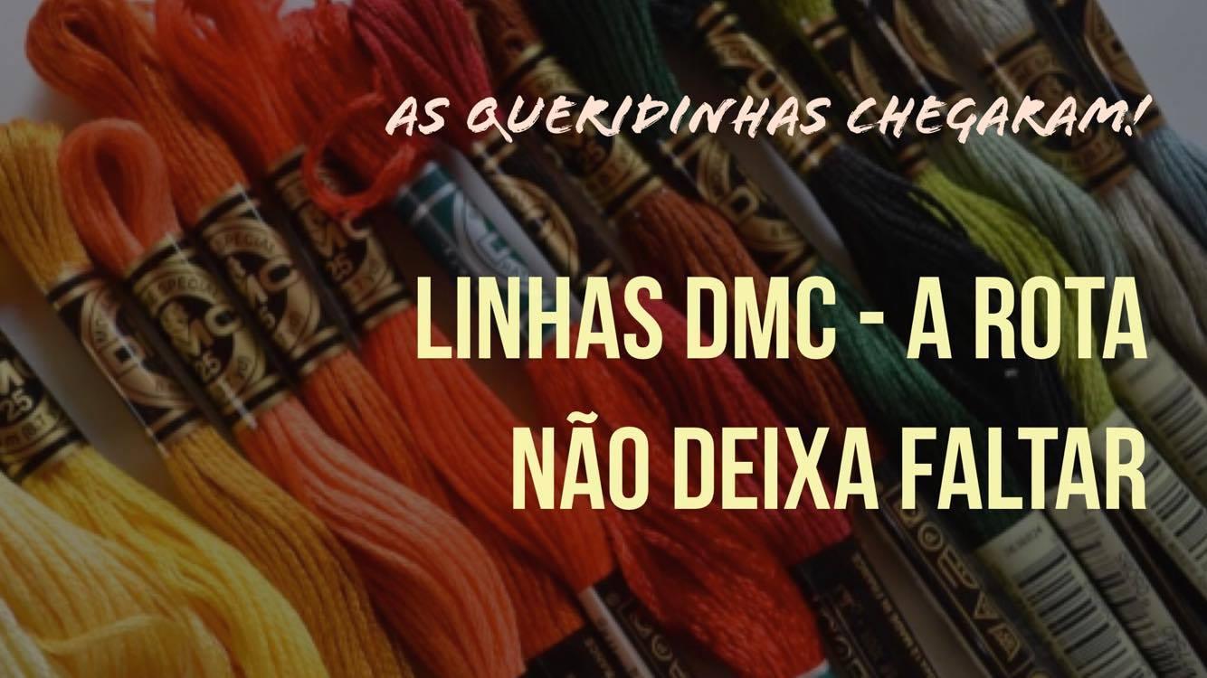 Linhas DMC - não dá pra não ter ~ Rota do Quilt 89004f516ef