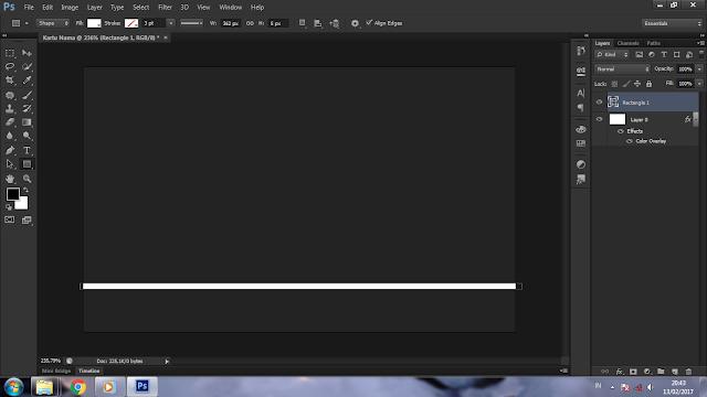 Cara Membuat Kartu Nama di Photoshop CS6