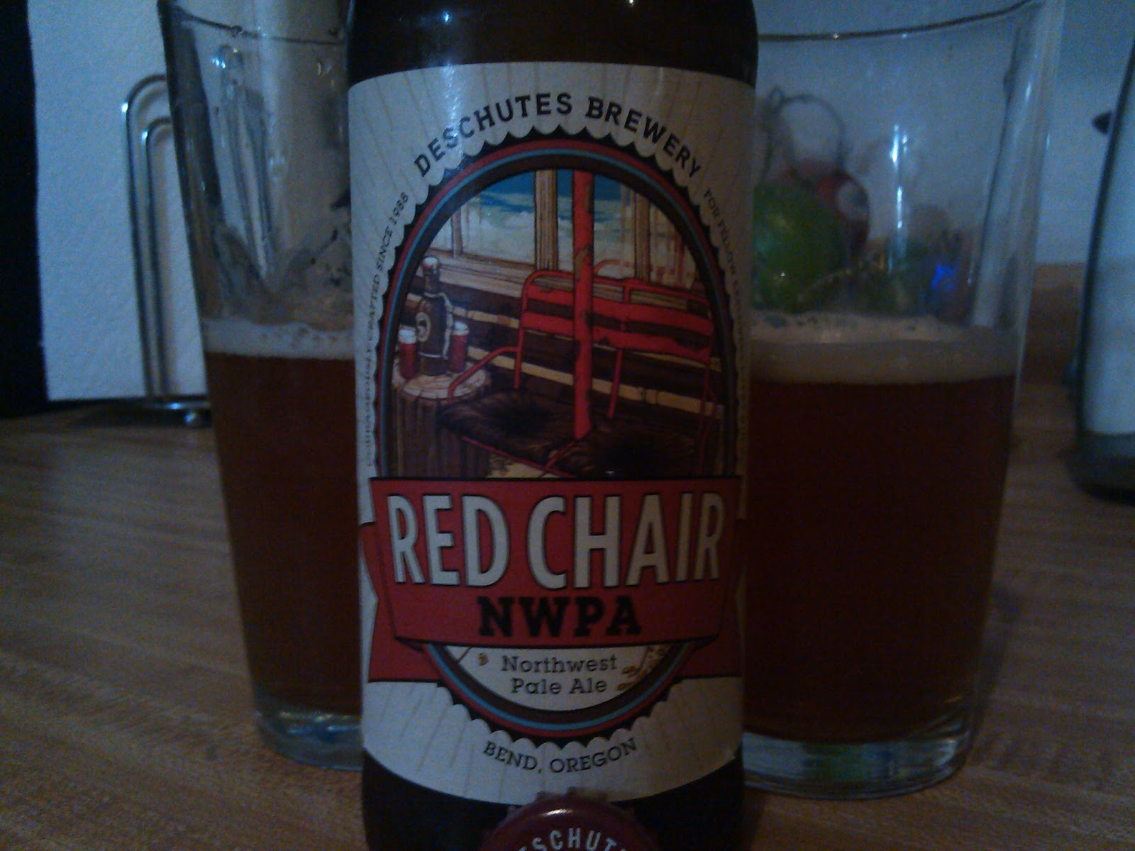 Red Chair Nwpa Abv Leather Dining Chairs Johannesburg Behind The Tap Deschutes