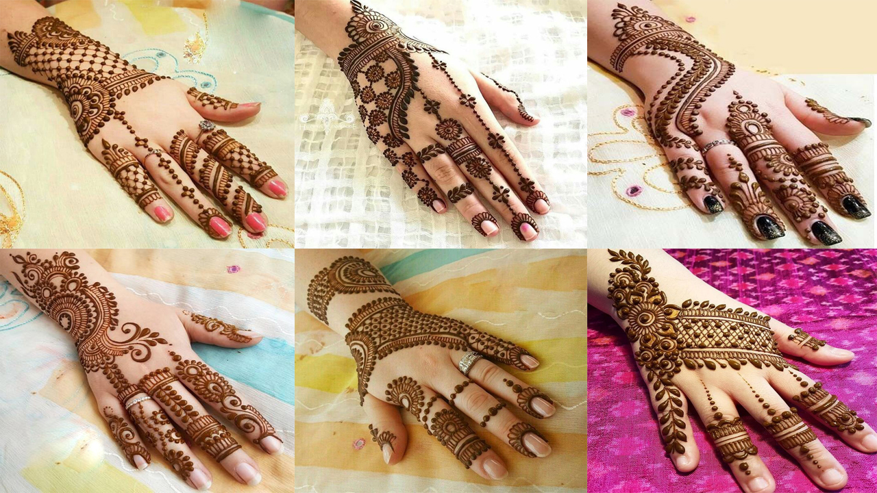 100 Latest New Mehndi Designs 2019 for hands , Fancy Fashion