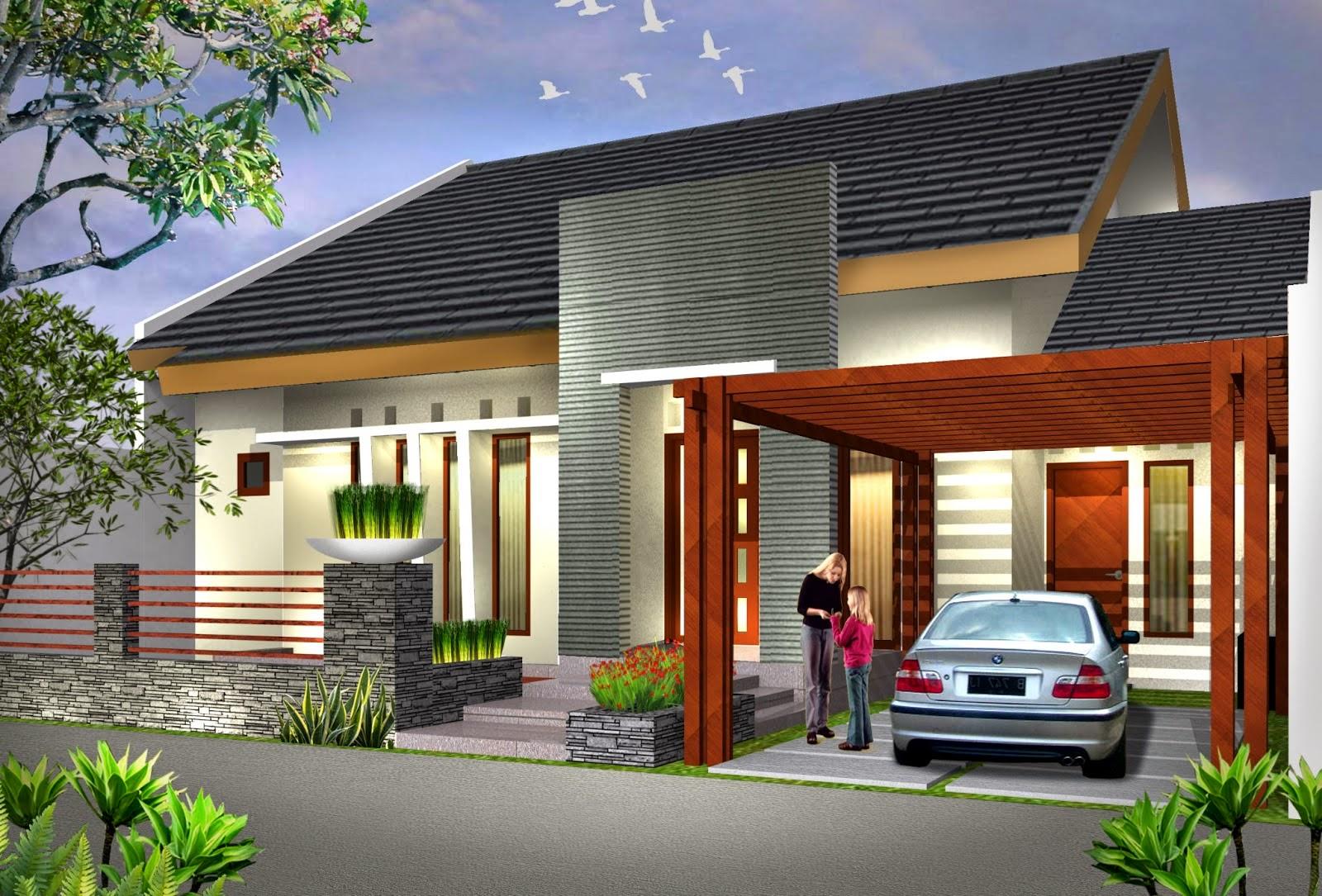 Desain Rumah Minimalis 1 Lantai Mewah - Foto Desain Rumah ...