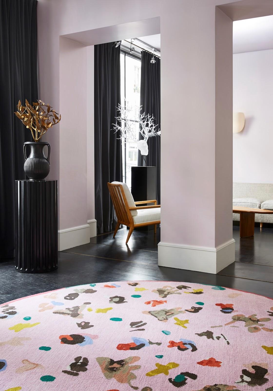 paris design week 2016 idylle von christian b rard manufacture cogolin. Black Bedroom Furniture Sets. Home Design Ideas
