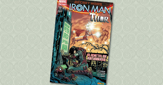 Iron Man Thor Panini Cover