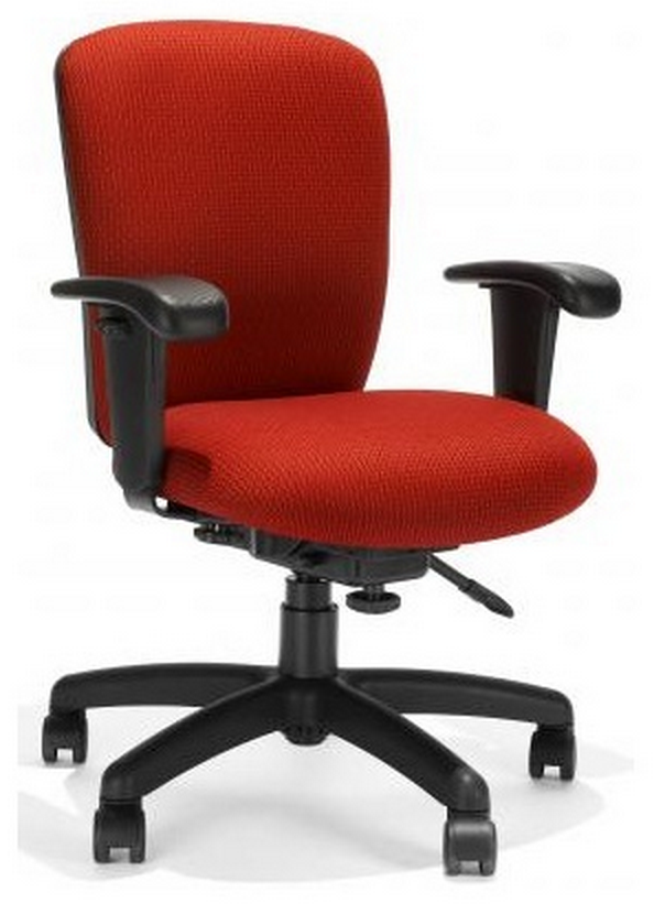 Red Rainier Office Chair by RFM